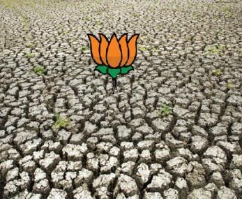 Indian Politics BJP Lotus